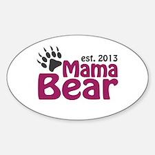Mama Bear Claw Est 2013 Decal