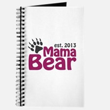 Mama Bear Claw Est 2013 Journal