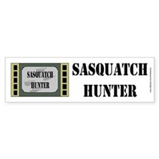Sasquatch Hunter Bumper Bumper Sticker