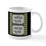Sasquatch Hunter Dark Mug