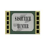 Sasquatch Hunter Rectangle Magnet (100 pack)