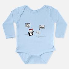 Sup Player Long Sleeve Infant Bodysuit