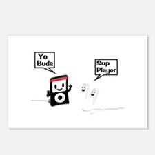 Sup Player Postcards (Package of 8)