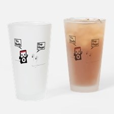 Sup Player Drinking Glass
