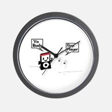 Sup Player Wall Clock