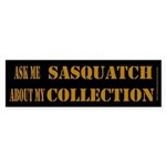 Sasquatch Collection Dark Bumper Sticker