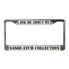 Sasquatch Collection License Plate Frame