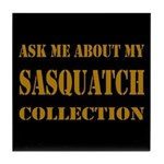 Sasquatch Collection Tile Coaster