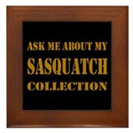 Sasquatch Collection Framed Tile
