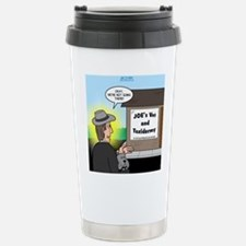 Vet Taxidermist Stainless Steel Travel Mug