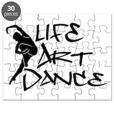 Life, Art, Dance Puzzle