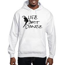 Life, Art, Dance Hoodie