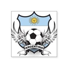 "argentina.png Square Sticker 3"" x 3"""