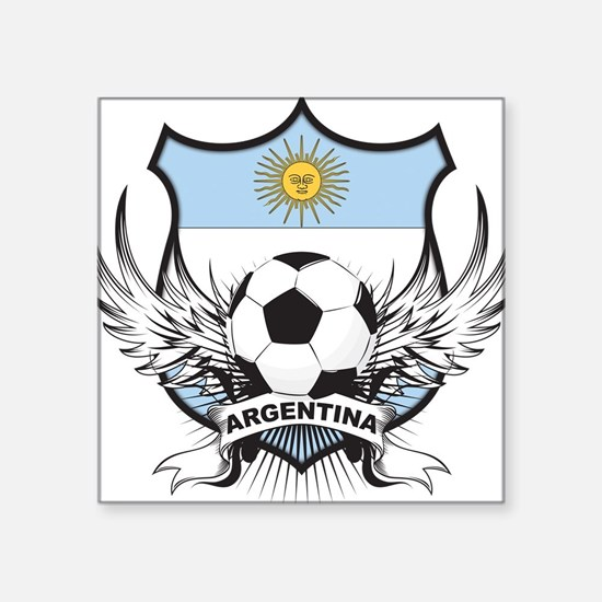 """argentina.png Square Sticker 3"""" x 3"""""""