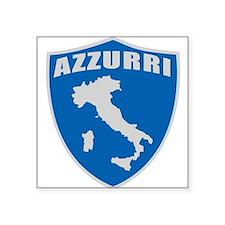 "azzurri.png Square Sticker 3"" x 3"""