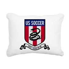 USA Soccer Rectangular Canvas Pillow