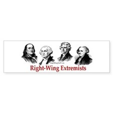 Extremists II Bumper Bumper Sticker