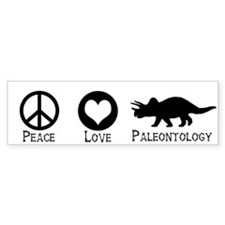 Peace Love and Paleontology (Bumper)