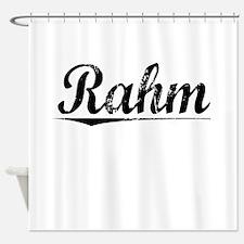 Rahm, Vintage Shower Curtain
