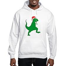 Santasaurus Hoodie Sweatshirt