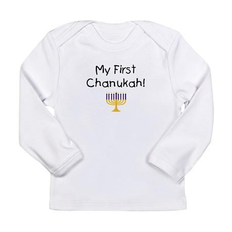 My First Chanukah Long Sleeve T-Shirt