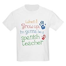 Future Spanish Teacher T-Shirt