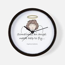 Angelman Syndrome Awareness Wall Clock