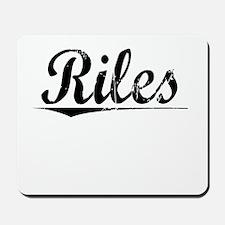 Riles, Vintage Mousepad