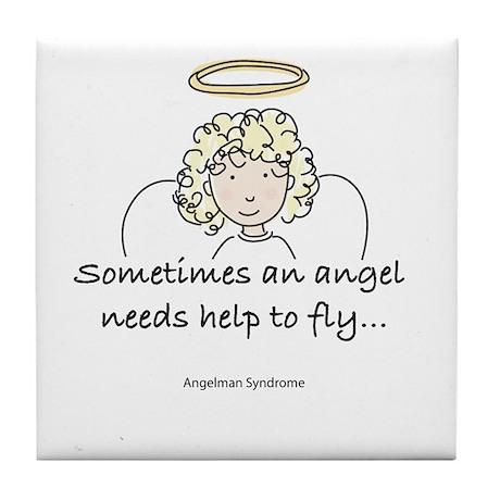 Angelman Syndrome Awareness Tile Coaster