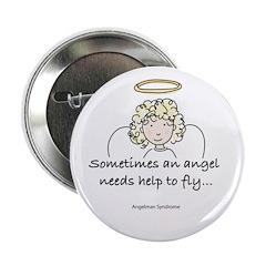 Angelman Syndrome Awareness Button