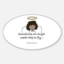 Angelman Syndrome Awareness Oval Decal