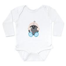 Bowling Boy.png Long Sleeve Infant Bodysuit
