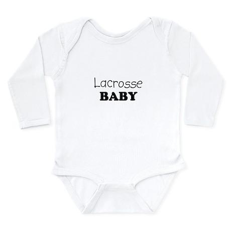 Lacrosse.png Long Sleeve Infant Bodysuit