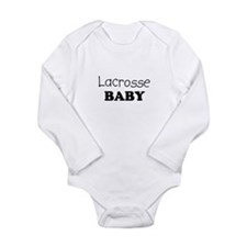 Lacrosse.png Long Sleeve Infant Bodysuit