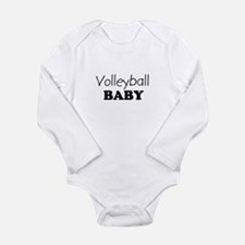 Volleyball.png Long Sleeve Infant Bodysuit