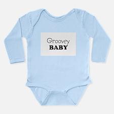 Groovey.png Long Sleeve Infant Bodysuit