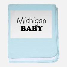 Michigan.png baby blanket