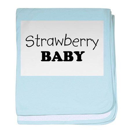 Strawberry.png baby blanket