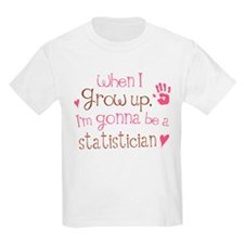 Kids Future Statistician T-Shirt