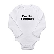 TheYoungest.jpg Long Sleeve Infant Bodysuit