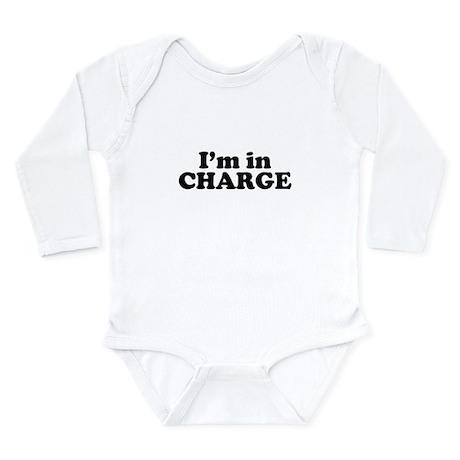 InCharge.jpg Long Sleeve Infant Bodysuit