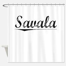 Savala, Vintage Shower Curtain