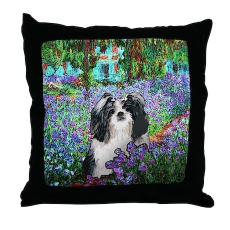 Shih Tzu Fine Art Eve Throw Pillow