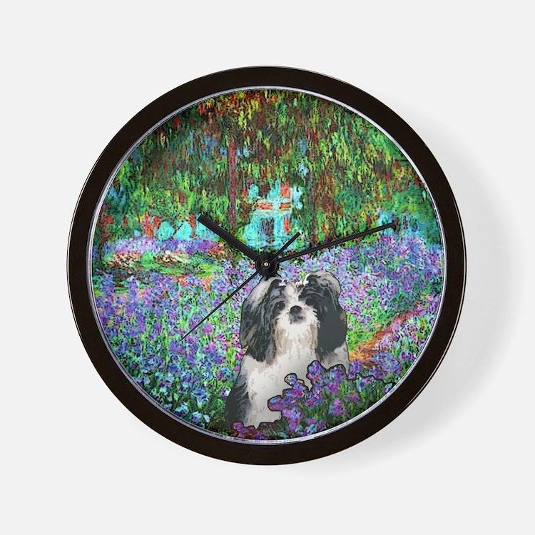 Shih Tzu Fine Art Eve Wall Clock