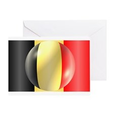 Belgium Flag Greeting Card