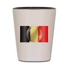 Belgium Flag Shot Glass