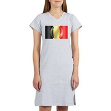 Belgium Flag Women's Nightshirt