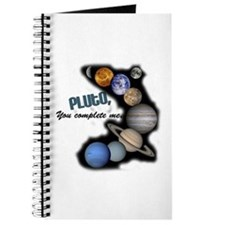 Pluto You Complete Me Journal