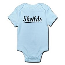 Sheilds, Vintage Infant Bodysuit