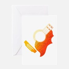 Guitar 3 Greeting Card